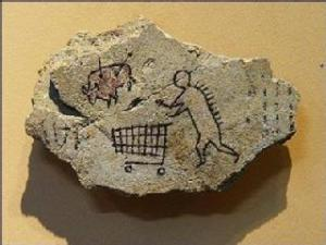 Caveman shopper