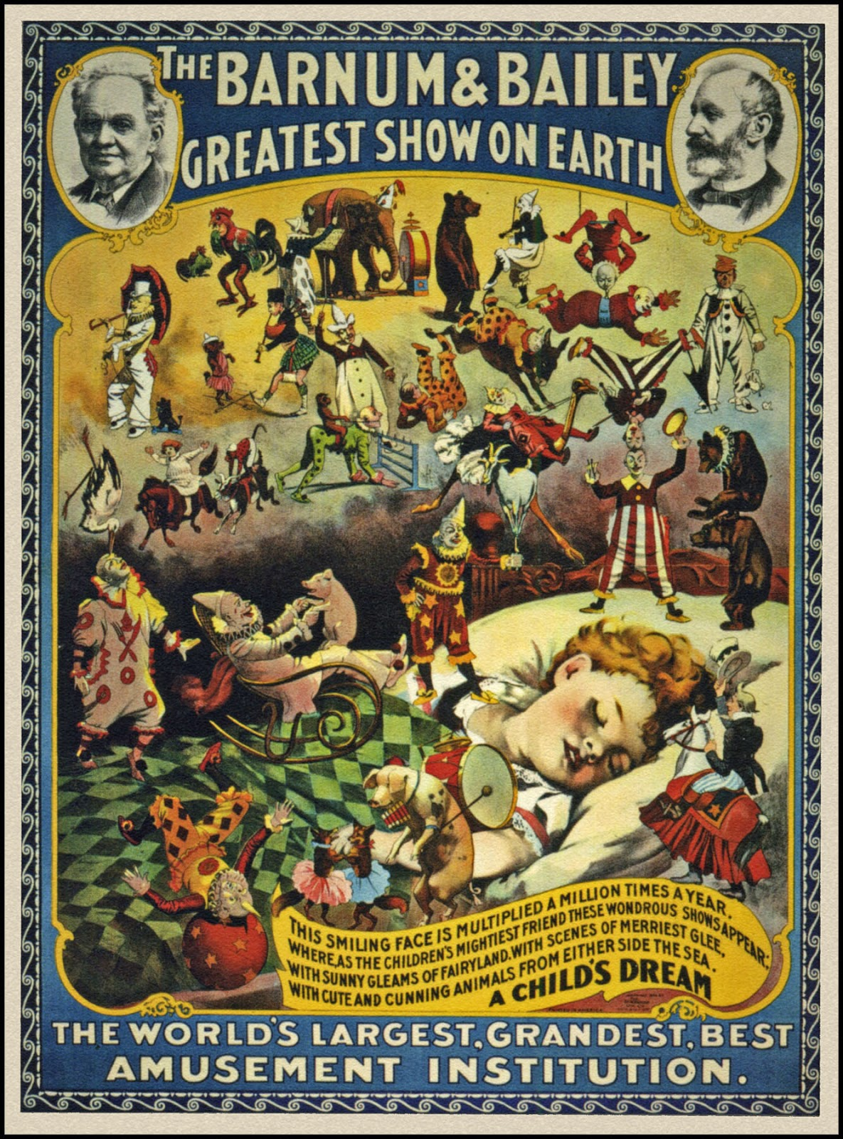 barnum circus In march of 1881, the barnum & london circus opened in new york and traveled more than 12,000 miles before returning to the winter quarters in bridgeport, connecticut.