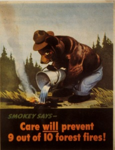 One of the first ad posters