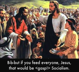 Jesus as a socialist & why Joe is an hypocrite – The View From Sari's World