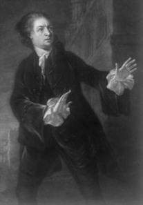 Garrick as Hamlet