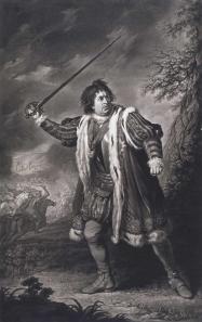Garrick as Richard III