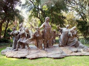 Saturnalia by Ernesto Biondi (1909) in the Buenos Aires Botanical Garden