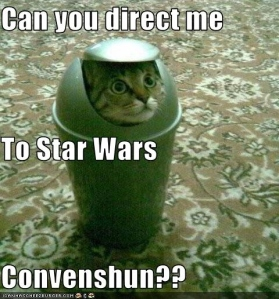 The trip down the rabbit hole begins with Kittens and Star Wars. Did you know there is a website devoted to animals with light-sabers? Me either.