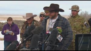 The only shooting here are the cameras in front of Bundy.