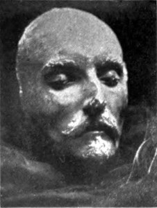 "Is this Shakespeare's death mask? Professor Stanly Wells says ""No""."